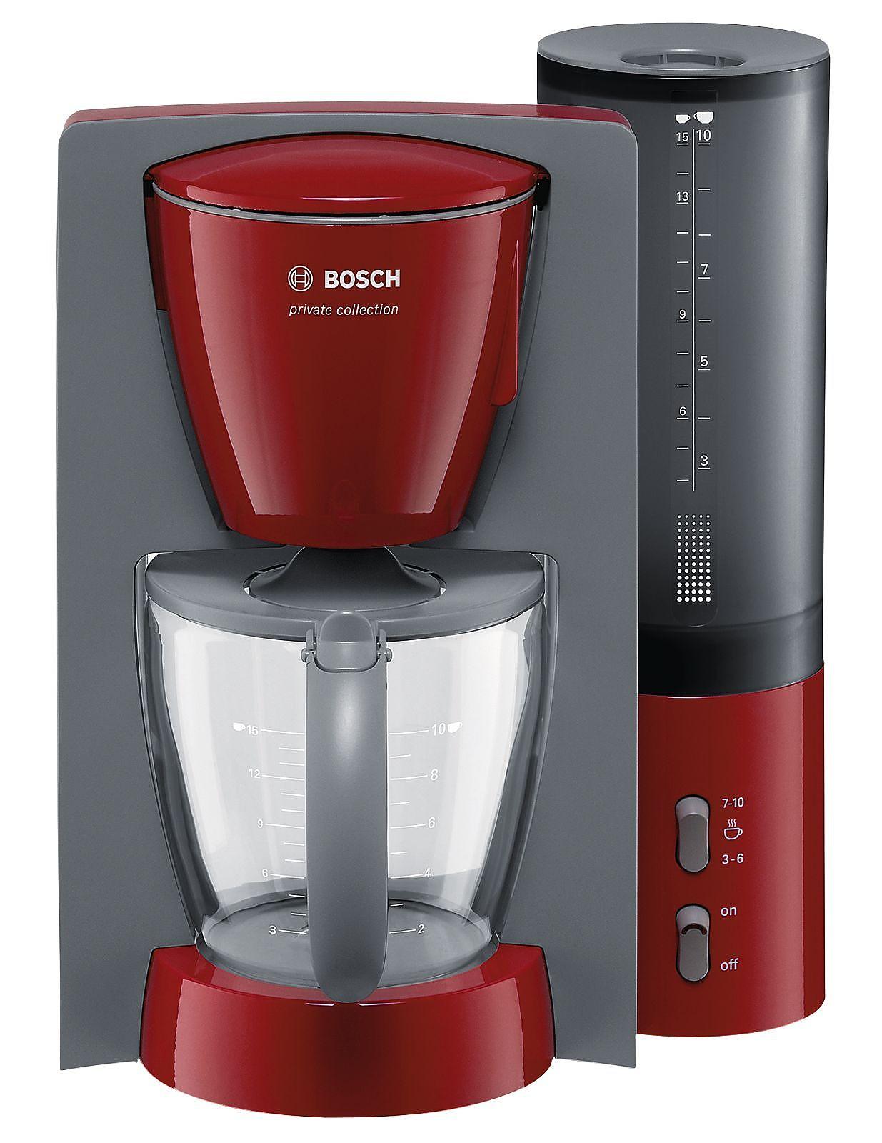 tka6024v rot grau bosch elektro klein filter kaffeemaschinen. Black Bedroom Furniture Sets. Home Design Ideas