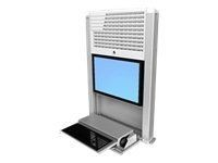 ERGOTRON StyleView Sit-Stand Enclosure (weiss) /